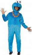 Sesamstraße Krümelmonster Comic Lizenz Kostüm blau