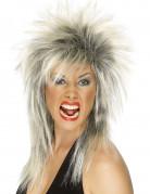 80er Jahre Rockstar Perücke blond