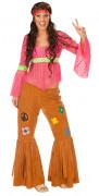 Hippie Damen-Kostüm