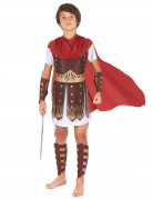 Römischer Soldat Kinderkostüm Krieger braun-weiss-rot