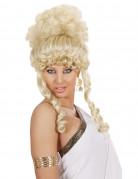 Göttin-Damenperücke Antike blond