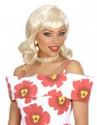 Perücke Blond 50er Jahre