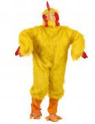 Huhn Tierkostüm unisex gelb