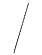 Dandy-Stock Gehstock schwarz-weiss 80cm