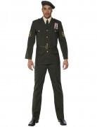 Offizier Kostüm Uniform grün