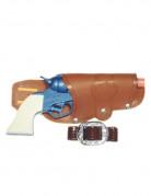 Wasserpistole mit Holster bunt