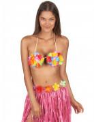 Hawaii Blumen-BH für Erwachsene bunt