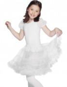 Kinder Petticoat Kostüm-Zubehör weiß