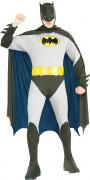 Klassisches Batman™-Herrenkostüm Superheldenkostüm grau-schwarz