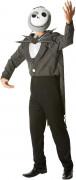 Jack Skellington-Kostüm The Nightmare Before Christmas™ Halloweenkostüm schwarz-weiss