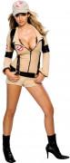 Sexy Ghostbusters Damen-Kostüm beige