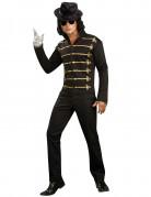 Michael Jackson Jacke schwarz-gold