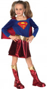 Supergirl Kinderkostüm Superheldin Lizenzware blau-rot