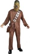 Chewbacca-Herrenkostüm Star Wars Lizenzkostüm braun
