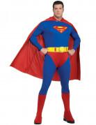 Verkleidung Superman für Herren blau-rot
