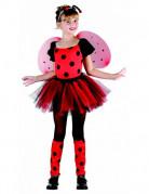Marienkäfer Kinder-Kostüm schwarz-rot