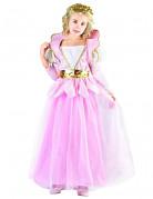 Elegante Prinzessin Kinderkostüm rosa