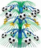Fussball Party-Deko Tischschmuck bunt 50cm
