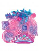 Prinzessin Mädchen-Set rosa-blau