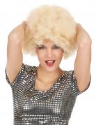Afro-Perücke blond