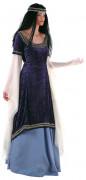 Elfe Fantasy Deluxe Damenkostüm Mittelalter lila