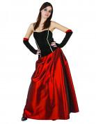 Verführerische Vampirin Halloween Damenkostüm schwarz-rot