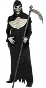 Sensenmann Grim Reaper Halloween-Kostüm schwarz