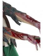 Narben und Schnittverletzungen Latex-Ärmel beige-rot