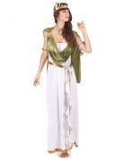 Griechinnen-Kostüm Göttin weiß-grün