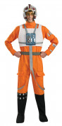 X-Wing-Kämpfer Star Wars™-Kostüm Faschingskostüm orange-schwarz-beige