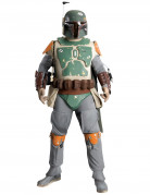 Boba Fett™-Sammlerkostüm Star Wars™ 14-teilig grau-beige-grün