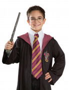 Harry Potter Krawatte bordeaux-gelb