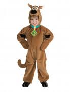 Scooby Doo™-Kostüm für Kinder Karneval braun