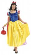 Disney Schneewittchen Märchenprinzessin Damenkostüm Lizenzware blau-gelb