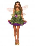 Zauberhafte Märchen-Fee Damenkostüm Elfe grün