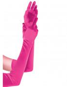 Handschuhe lang Accessoire pink