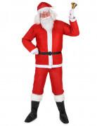 Weihnachtsmann Komplett-Kostüm Weihnachten rot-weiss
