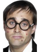 Schuljungen Brille