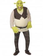 Shrek Comic Lizenz Film Kostüm grün-beige-braun