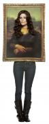 Gemälde-Kostüm Kunst-Kostüm gold-braun