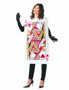 Herzdame - Kostüm für Damen schwarz-bunt