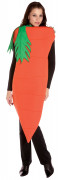 Karotten-Damenkostüm Möhren-Kostüm orange-grün