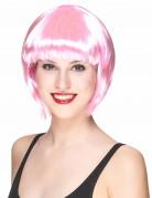 Kabarett Damen-Perücke rosa