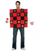 Dame-Brettspiel Kostüm für Erwachsene