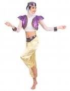 Orientalische Tänzerin Damenkostüm bunt
