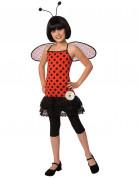 Marienkäfer-Kostüm für Kinder mit Flügeln Faschingskostüm rot-schwarz