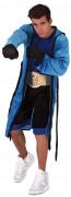 Boxer Kostüm Sportler blau-schwarz