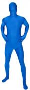 Morphsuit Ganzkörperanzug Kostüm blau