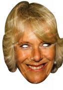 Maske Camilla Parker Bowles natur