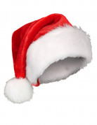 Süsse Weihnachtsmann Mütze rot-weiss